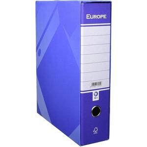 REGISTRATORE A LEVA EUROPE BLU 35x28.5x8cm ARCA
