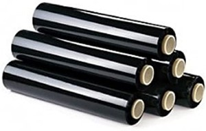 FILM ESTENSIBILE MANUALE NERO LINEA PACK 50x180MT}