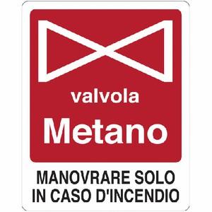 CARTELLO SEGNALETICO ANTINCENDIO 5316A ALLUMINIO 16cm x 21cm