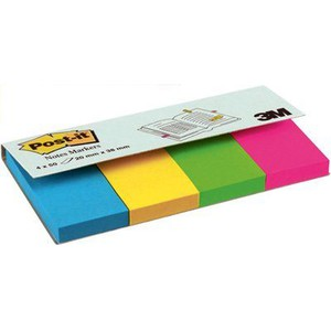 POST-IT NOTES MARKER 670-4U MULTICOLORE 2x3.8cm