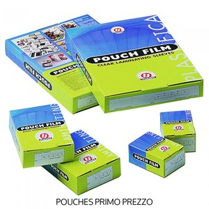 POUCHES PER PLASTIFICATRICI 6.8 cm x 9.8 cm 125µm TOSINGRAF