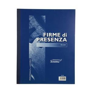 BLOCCO FIRME PRESENZA 22.8x29.7cm