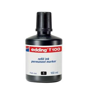 REFILL INK PERMANENT MARKER T100 NERO EDDING