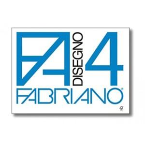 ALBUM DA DISEGNO F4 RUVIDO A 4 ANGOLI FABRIANO con Angoli Ruvido 20 FOGLI 33x48cm 200gr