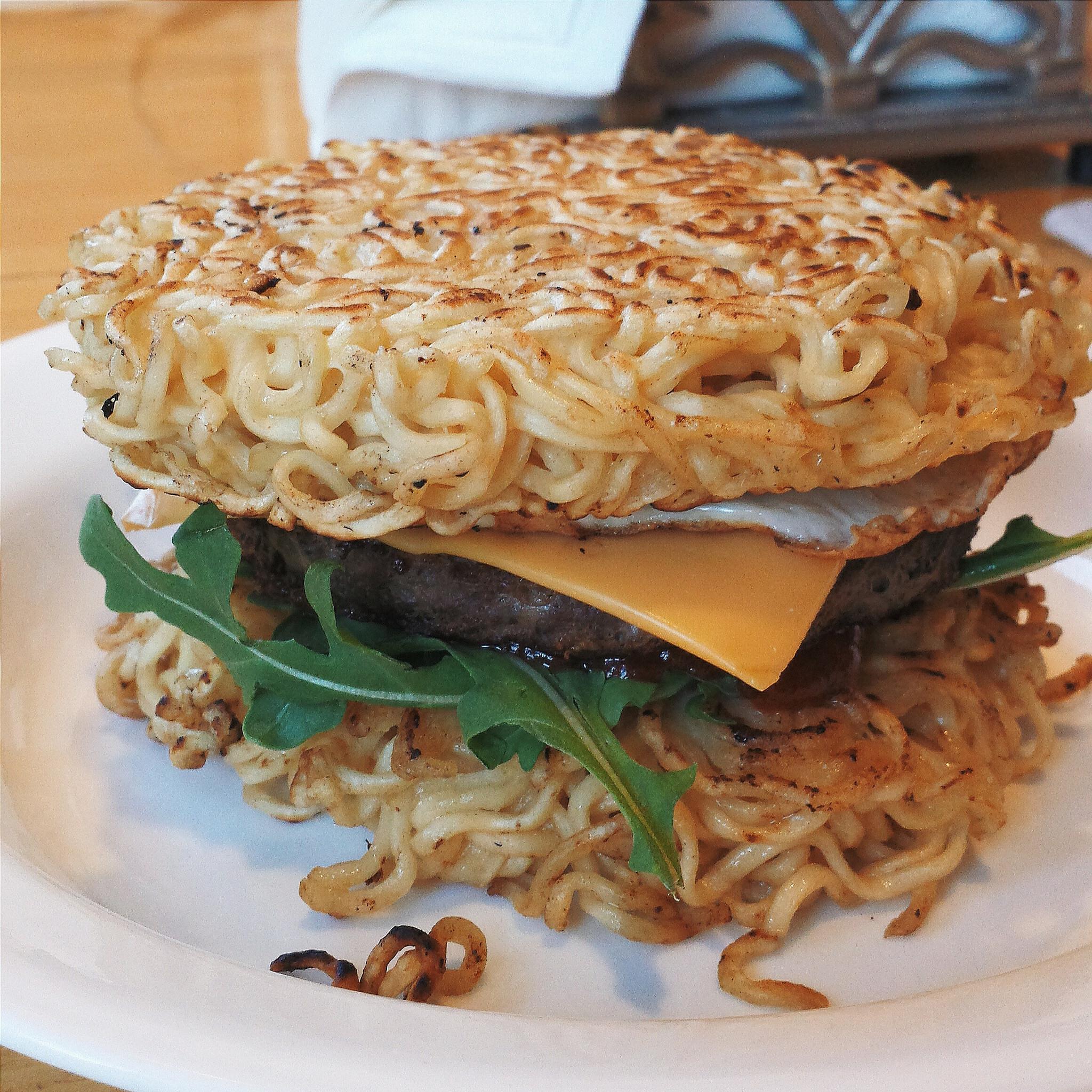 Ramen façon burger américain