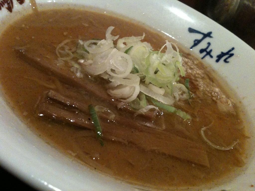 Ramen préparé à la sauce soja