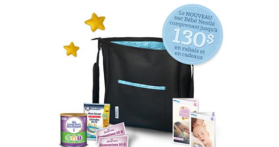 Ensemble gratuit de produits Bébé Nestlé