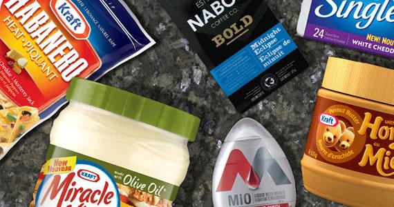 Coupons pour les fromages et les produits Kraft