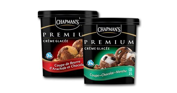 Vite, demandez votre crème glacée Chapman's gratuite