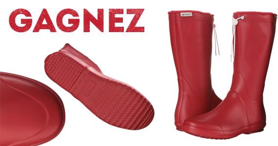 Gagnez une nouvelle paire de bottes de pluie Tretorn !