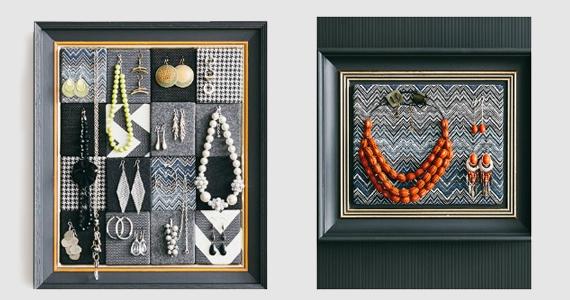 Comment faire un joli cadre à bijoux