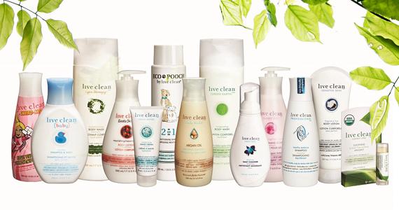 Coupons pour les produits de beauté Live Clean