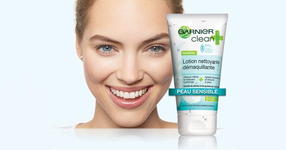 Gratuit – échantillon de Garnier Clean plus