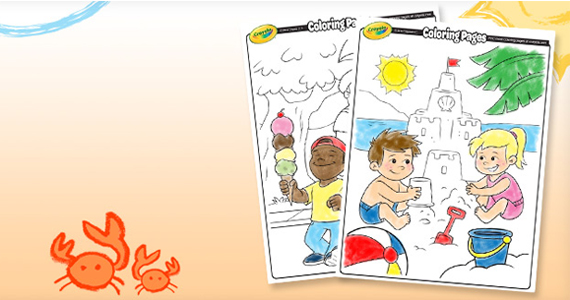 Gratuit – pages à colorier de Crayola