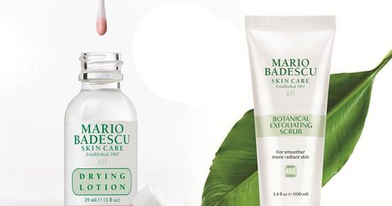Échantillon de produit de beauté Mario Badescu