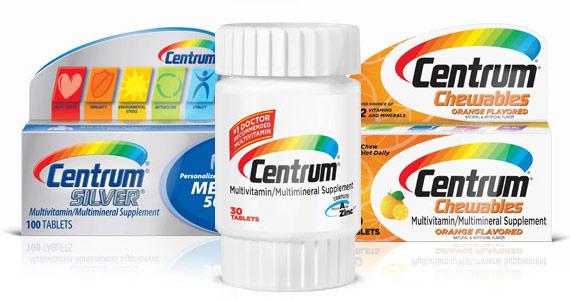 Profitez des coupons pour produits Centrum