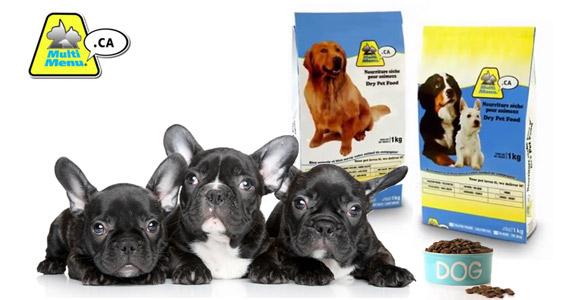 Échantillon de nourriture pour chien Multi Menu