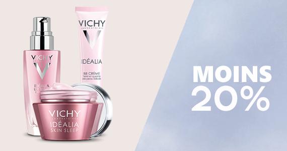 Économisez jusqu'à 20$ chez Vichy