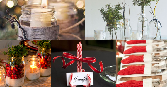 5 idées de décors de table pour les fêtes