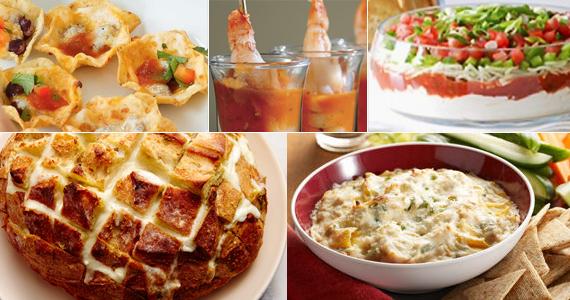 Cinq recettes de hors-d'oeuvre pour accueillir vos invitées