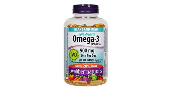Économisez à l'achat de Oméga-3 Webber Naturals