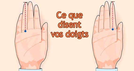 Vos mains peuvent révéler votre propension à l'infidélité et bien d'autres choses