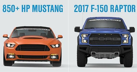 Gagnez un camion Ford et une voiture Mustang
