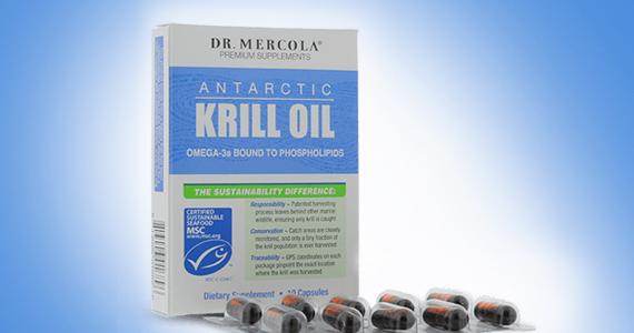 Échantillon gratuit de krill de l'Antarctique