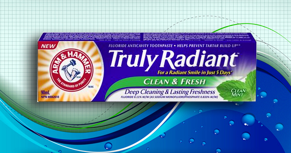 Dentifrice Truly Radiant Arm & Hammer GRATUIT!