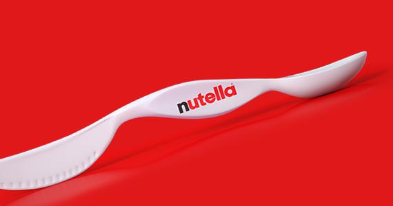 Recevez une des 40 000 cuillères-couteaux Nutella