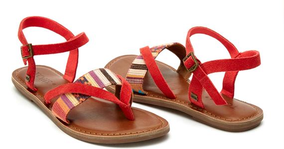 Gagnez une paire de sandales TOMS