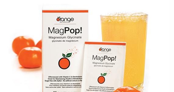 Échantillon gratuit de boisson désaltérante MagPop!
