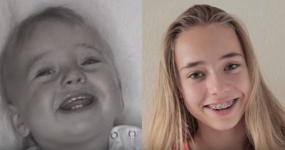 Son père fait une vidéo 1x semaine de l'âge de 0 à 16 ans!