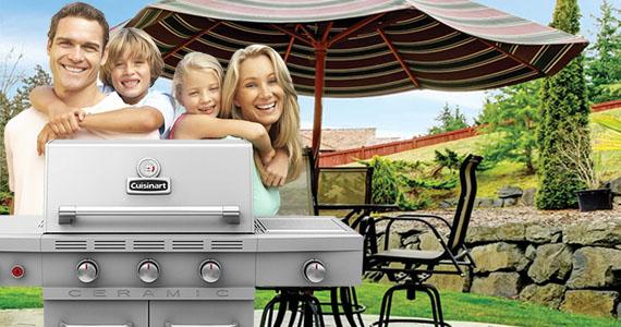 Gagnez un BBQ Cuisinart et des meubles de jardin
