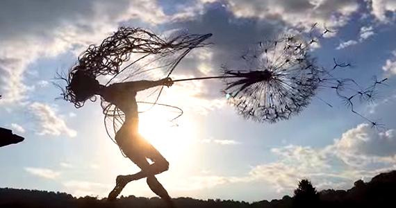 Des sculptures de fées qui vous éblouiront avec leur beauté