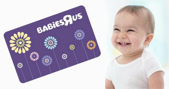 Gagnez une carte-cadeau Babies-R-Us de 200$