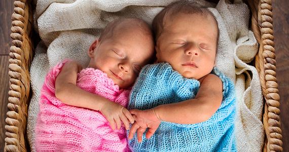 D'adorables photos de jumeaux qui remontent le moral