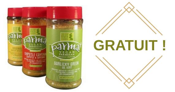 Échantillon gratuit du condiment Prama
