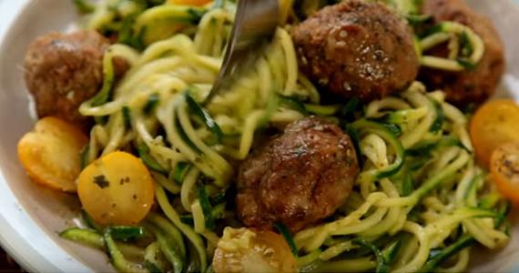 Délicieuse recette de spaghetti de zucchini