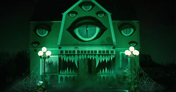 Un décor de maison tout à fait surréaliste!