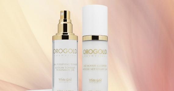 Gagnez un des cinq duos de produits  Orogold