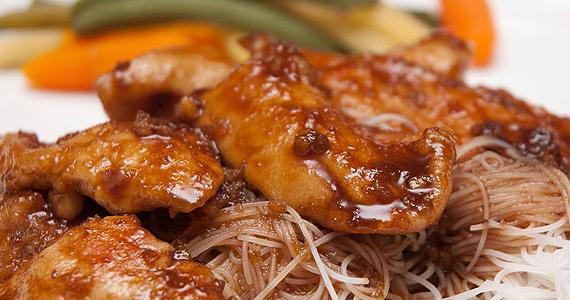 Délicieux poulet au sirop d'érable