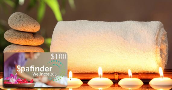 Gagnez une carte-cadeau Spafinder de 100 $