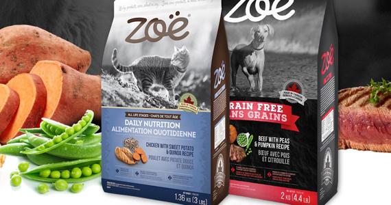 Gagnez 6 mois d'aliments secs Zoë pour chien ou pour chat