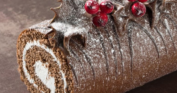 Buche de Noël – version simple à faire