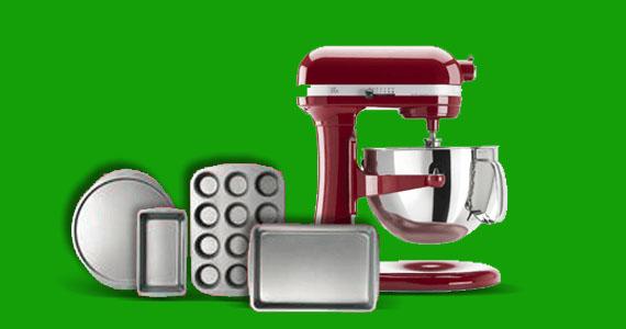 Gagnez un ensemble de plats et un mélangeur KitchenAid