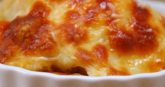 Macaroni fromage pomme et provolone impossible de résister!