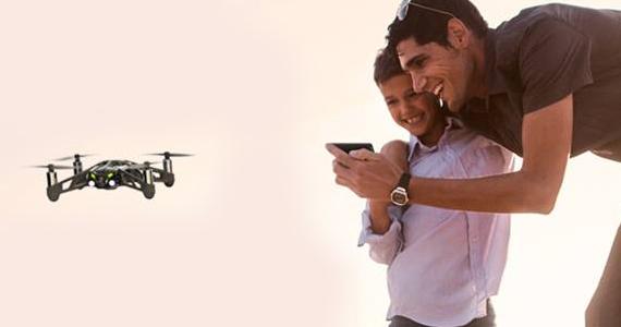 Gagnez 1 des 10 mini drones Parrot