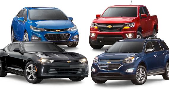 Gagnez une Chevrolet 2017 et plus
