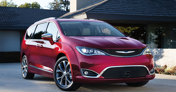 Gagnez une Chrysler Pacifica 2017